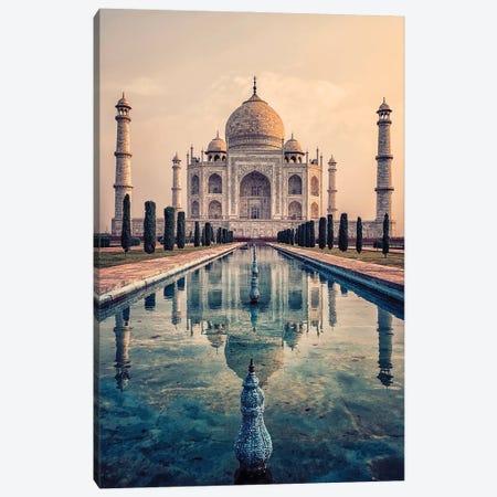 Taj Mahal Mausoleum Canvas Print #EMN214} by Manjik Pictures Canvas Wall Art
