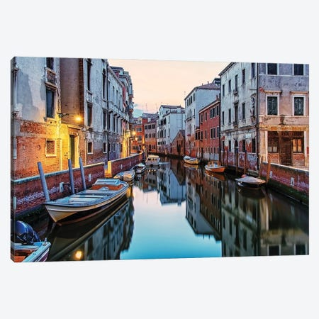 Trip In Venice Canvas Print #EMN220} by Manjik Pictures Canvas Art