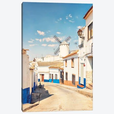 Village In La Mancha Canvas Print #EMN238} by Manjik Pictures Art Print