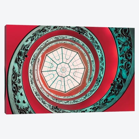 Double Spiral Canvas Print #EMN243} by Manjik Pictures Canvas Wall Art