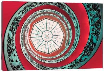 Double Spiral Canvas Art Print