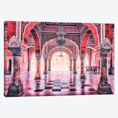 City Palace Canvas Print #EMN24} by Manjik Pictures Canvas Print