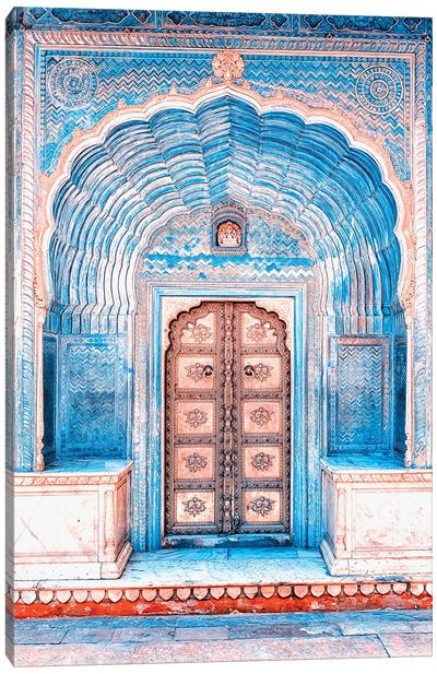 Architecture In Rajasthan Canvas Art Print