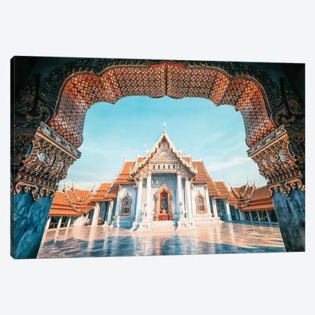 Marble Temple Canvas Print #EMN259} by Manjik Pictures Canvas Art Print