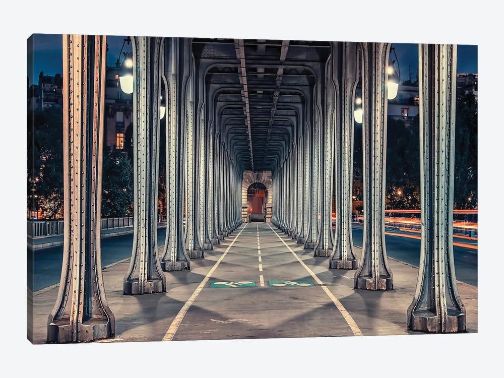 Bir-Hakeim Bridge by Manjik Pictures 1-piece Canvas Art