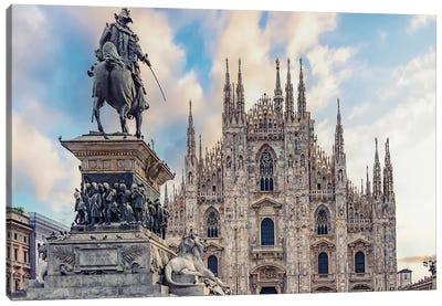 Piazza Del Duomo Canvas Art Print