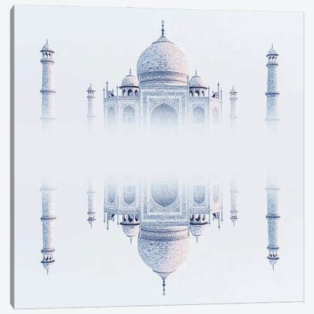 Dreamy Taj Mahal Canvas Print #EMN28} by Manjik Pictures Canvas Artwork