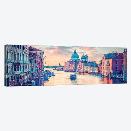 Orange Venice Canvas Print #EMN301} by Manjik Pictures Canvas Print