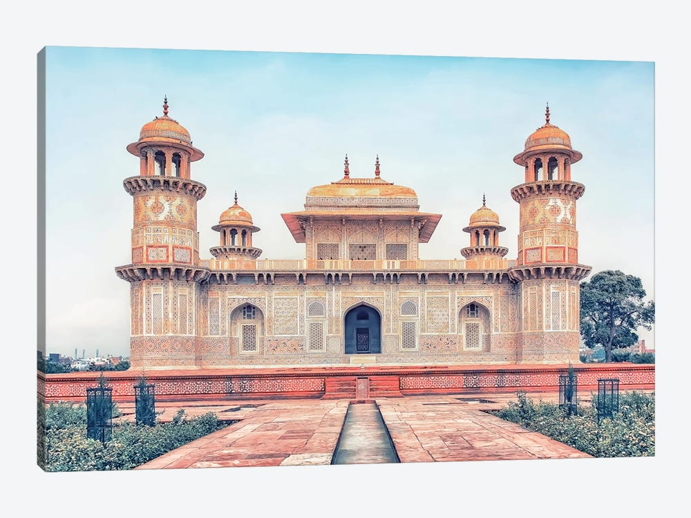 Tomb Of I'timād-Ud-Daulah by Manjik Pictures 1-piece Canvas Art