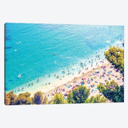 Mediterranean Sea Canvas Print #EMN317} by Manjik Pictures Canvas Print