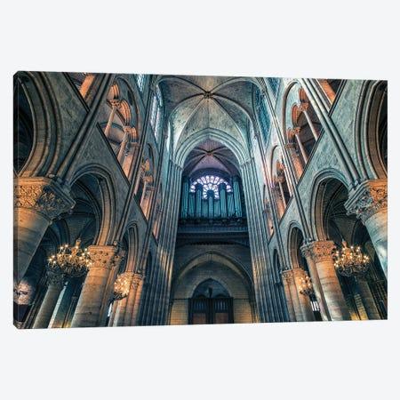 Notre Dame Canvas Print #EMN330} by Manjik Pictures Canvas Art