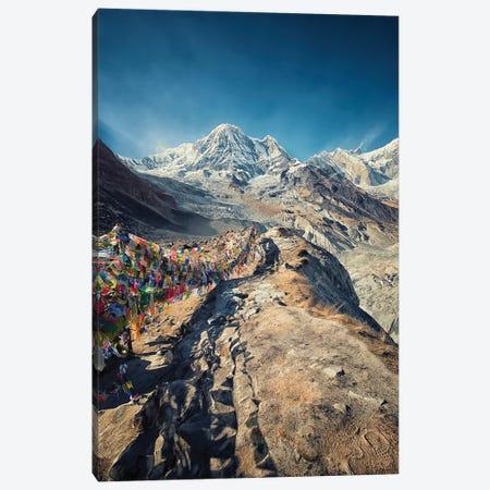 Annapurna Base Camp Canvas Print #EMN341} by Manjik Pictures Canvas Print