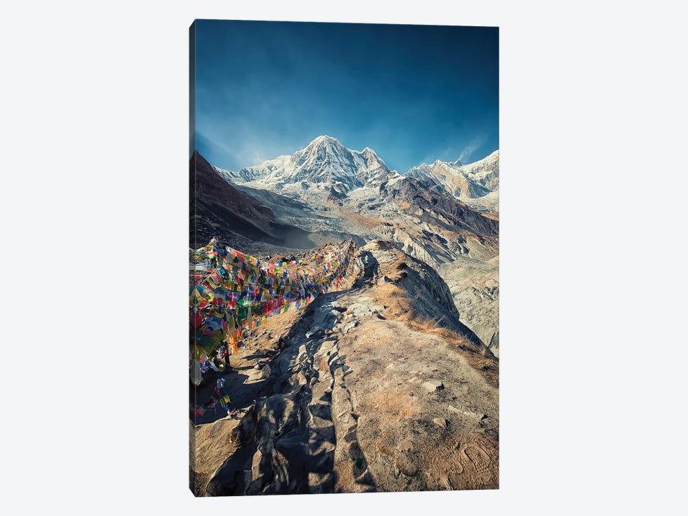 Annapurna Base Camp by Manjik Pictures 1-piece Canvas Artwork