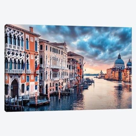 Follow The Light Canvas Print #EMN40} by Manjik Pictures Canvas Art