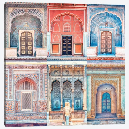 Rajasthan Style Canvas Print #EMN411} by Manjik Pictures Canvas Print