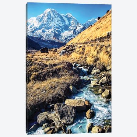 Annapurna Landscape Canvas Print #EMN427} by Manjik Pictures Canvas Print