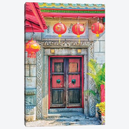 Chinese Architecture Canvas Print #EMN446} by Manjik Pictures Canvas Print