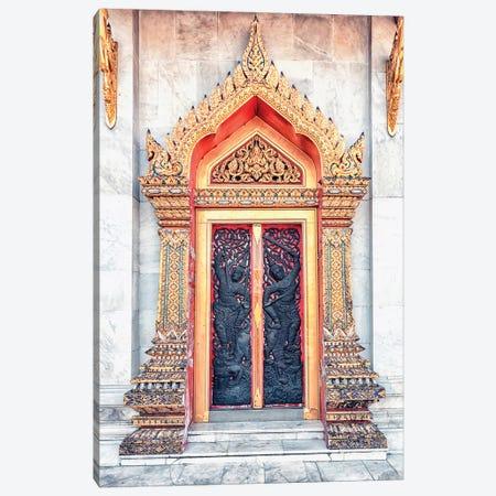 Thai Architecture Canvas Print #EMN495} by Manjik Pictures Canvas Artwork