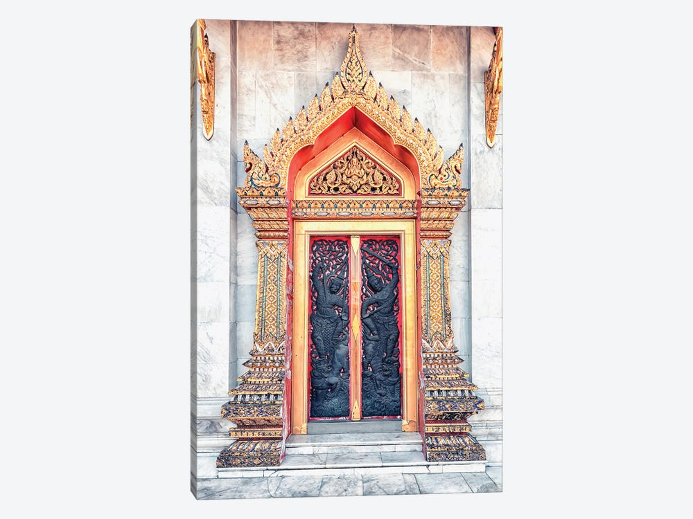 Thai Architecture by Manjik Pictures 1-piece Canvas Wall Art