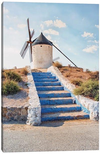 Windmill In La Mancha Canvas Art Print