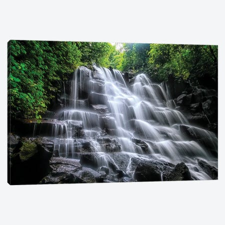 Kanto Lampo Waterfall Canvas Print #EMN528} by Manjik Pictures Canvas Print