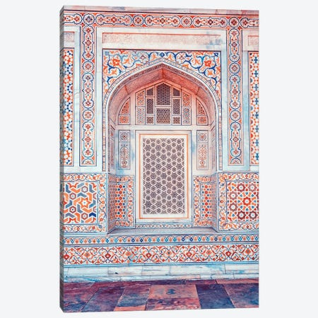 Indian Architecture Canvas Print #EMN53} by Manjik Pictures Art Print