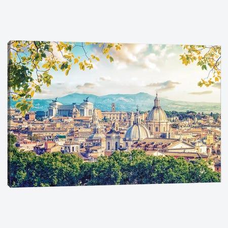 Beautiful Rome Canvas Print #EMN548} by Manjik Pictures Canvas Art Print