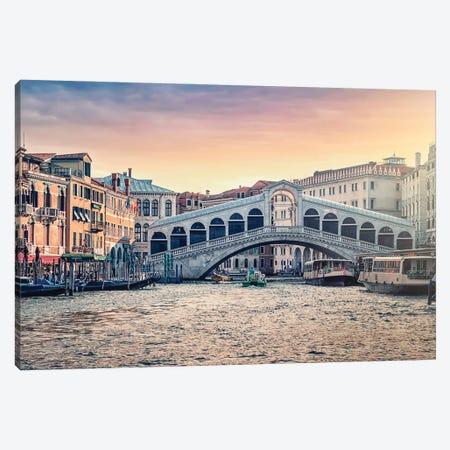 Rialto Bridge Canvas Print #EMN559} by Manjik Pictures Canvas Wall Art