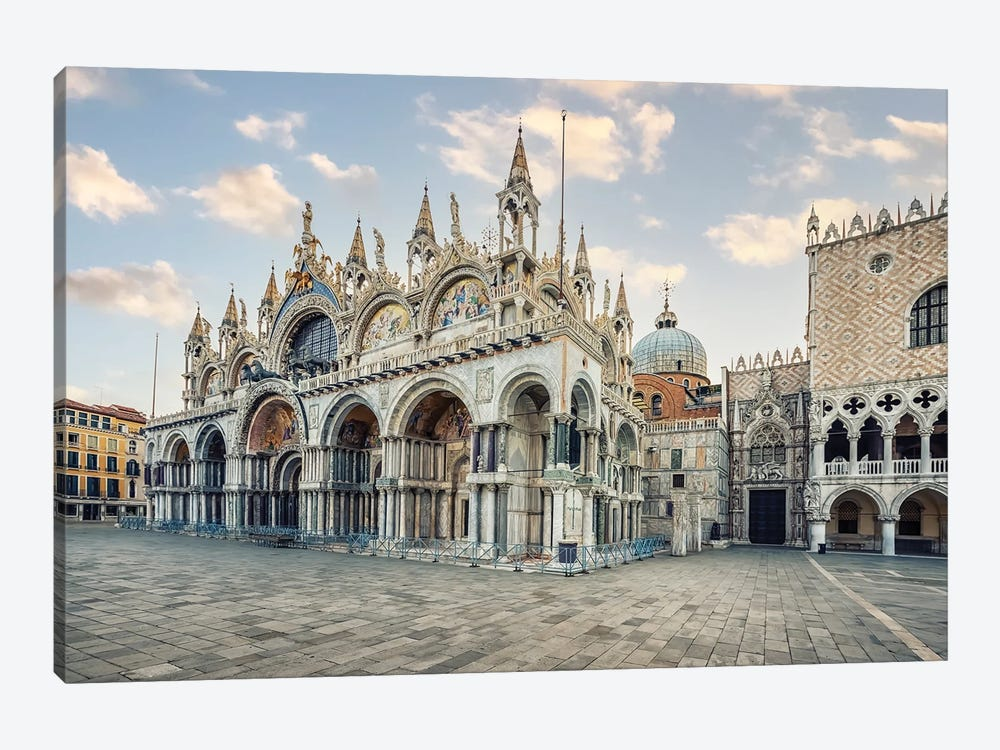 Venice City In The Morning by Manjik Pictures 1-piece Canvas Artwork