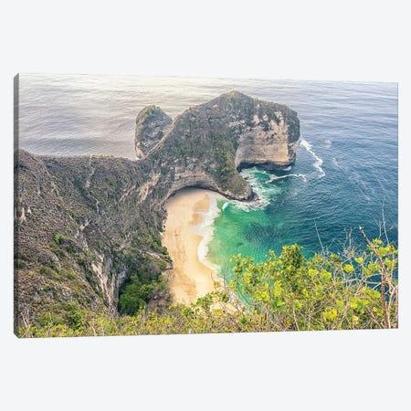 Kelingking Beach Canvas Print #EMN581} by Manjik Pictures Canvas Print