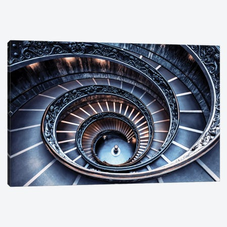 Beautiful Stairway Canvas Print #EMN583} by Manjik Pictures Canvas Art Print