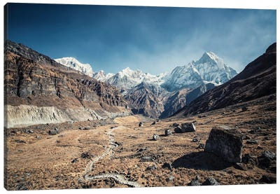 Into The Himalayas Canvas Art Print