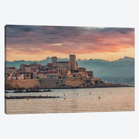 Antibes Canvas Print #EMN5} by Manjik Pictures Canvas Print
