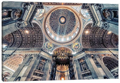 St Peters Basilica Canvas Art Print