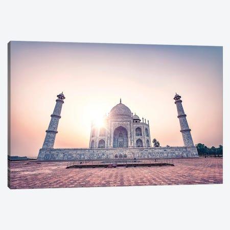 Taj Canvas Print #EMN605} by Manjik Pictures Canvas Print