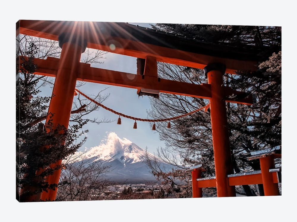 Shrine In Japan by Manjik Pictures 1-piece Canvas Art Print