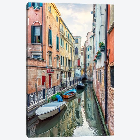 Colorful Wall Canvas Print #EMN629} by Manjik Pictures Canvas Artwork
