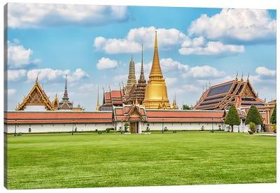 Bangkok Grand Palace Canvas Art Print