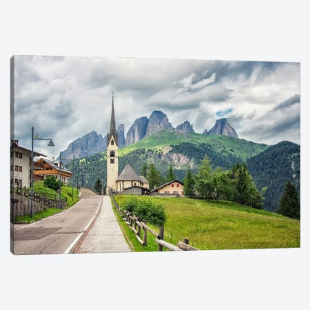 Beautiful Dolomites Canvas Print #EMN657} by Manjik Pictures Canvas Wall Art