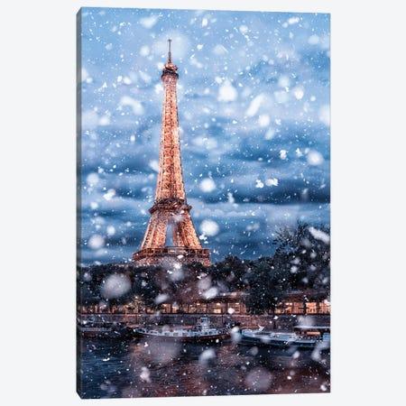 Last Snow Canvas Print #EMN65} by Manjik Pictures Canvas Print