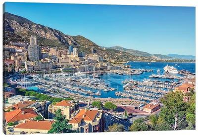 Summer In Monaco Canvas Art Print