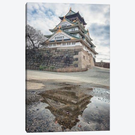 Osaka Reflection Canvas Print #EMN676} by Manjik Pictures Canvas Artwork