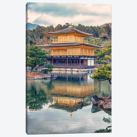 Kyoto Temple Canvas Print #EMN683} by Manjik Pictures Canvas Wall Art