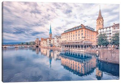 Beautiful Zurich Canvas Art Print