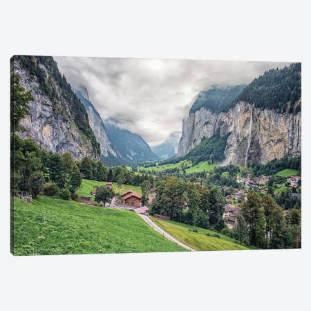 Swiss Valley Canvas Print #EMN699} by Manjik Pictures Canvas Print