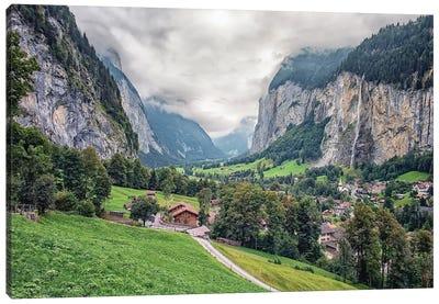 Swiss Valley Canvas Art Print