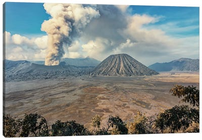 Volcanic Eruption Canvas Art Print
