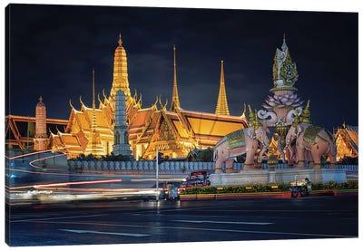 Grand Palace In Bangkok Canvas Art Print