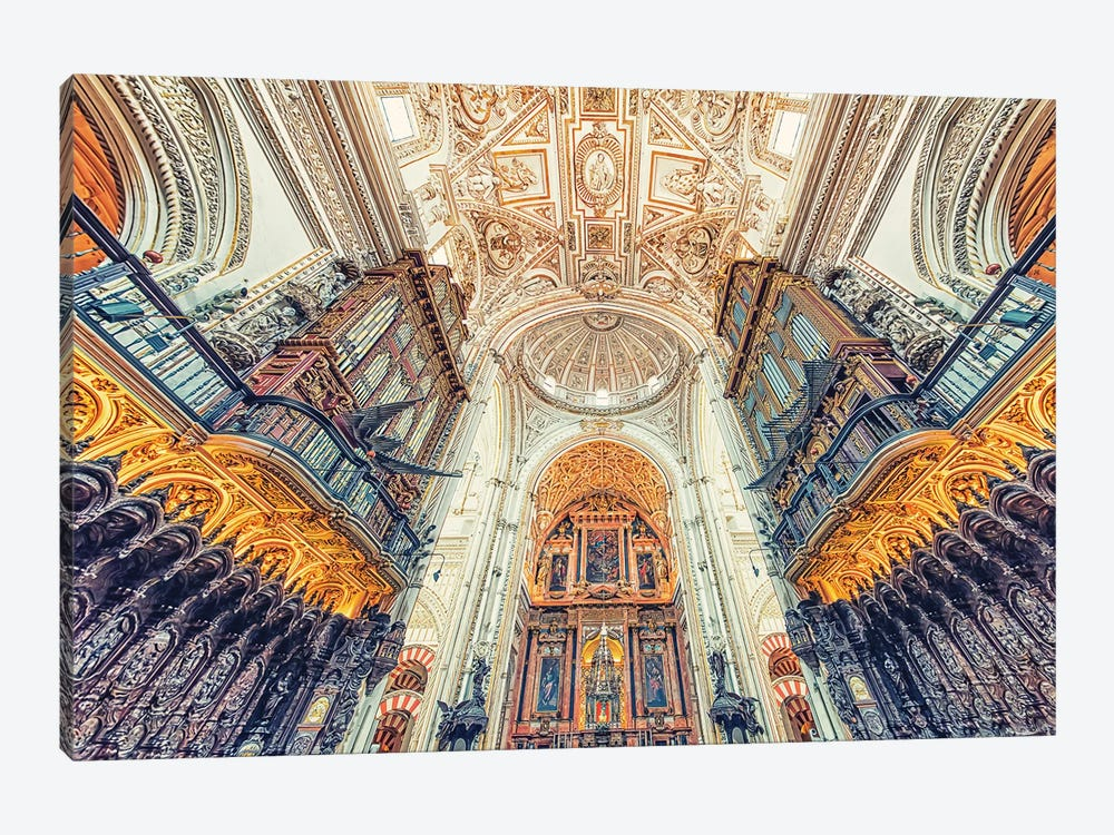 Mezquita De Cordoba by Manjik Pictures 1-piece Canvas Wall Art