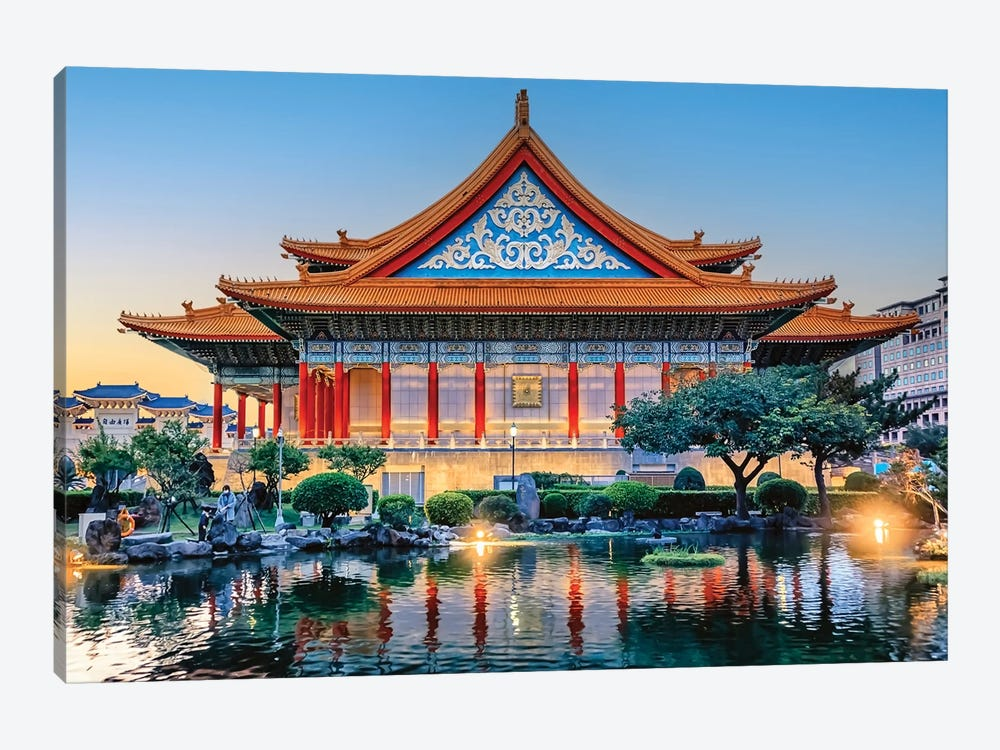 National Concert Hall by Manjik Pictures 1-piece Canvas Wall Art